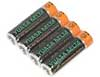 NiMH Battery, AA, 4-Pack