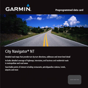 microSD preprogrammed card, City NavigatorNT - UK & Ireland