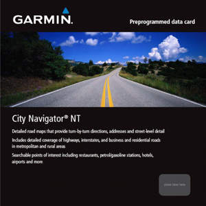 microSD preprogrammed card, City NavigatorNT - Italy & Greece